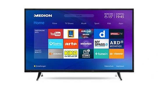 Telewizor z Internetem i Smart TV
