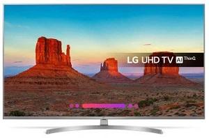 telewizor 65-calowy LG 65UK7550 4K UHD HDR WebOS Wi-Fi Bluetooth Miracast