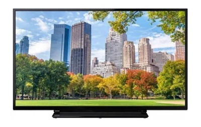 Telewizor 39-calowy Toshiba 39L2863DG, z technologią SMART TV i rozdzielczością FULL HD.